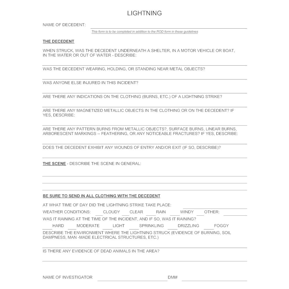 Example Image: Lightning