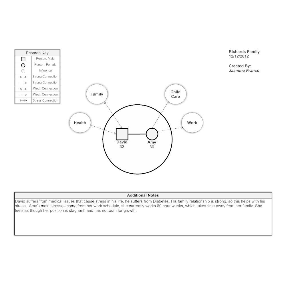Example Image: Ecomap - Couple