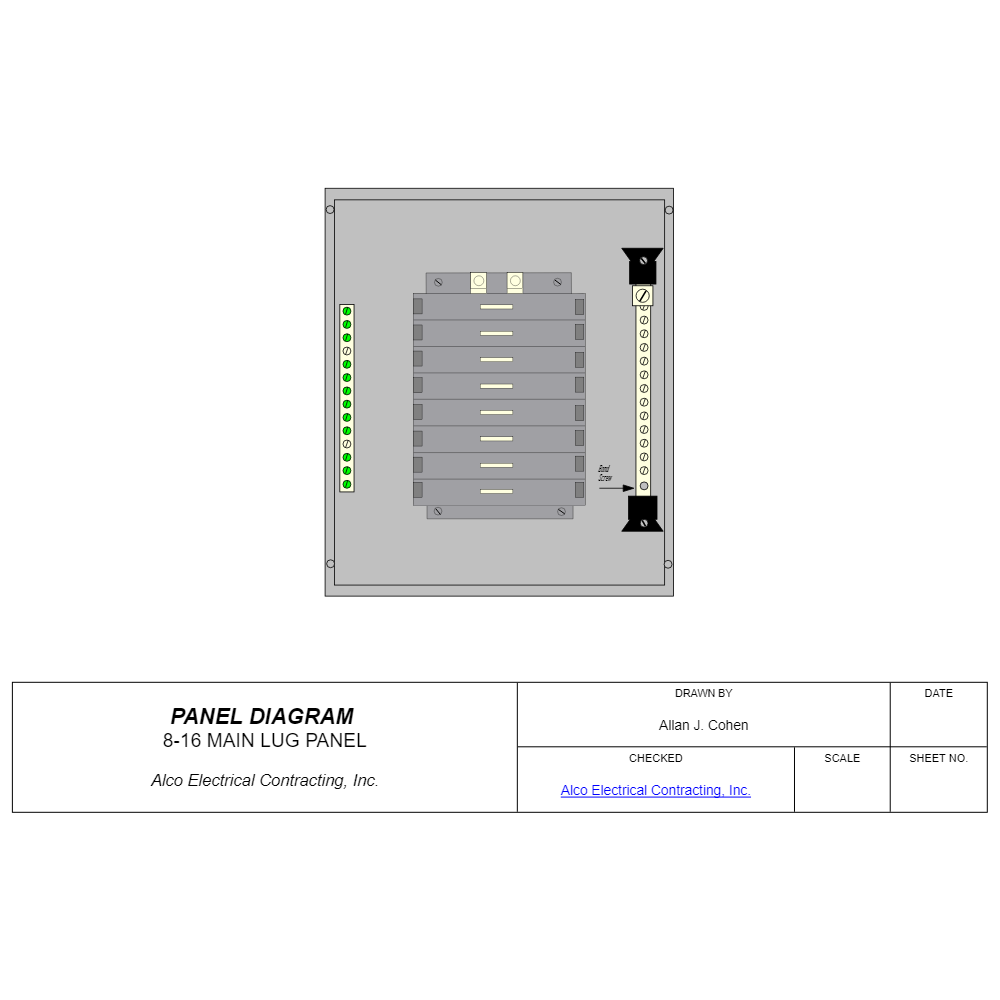 Example Image: Circuit Panel - Lug