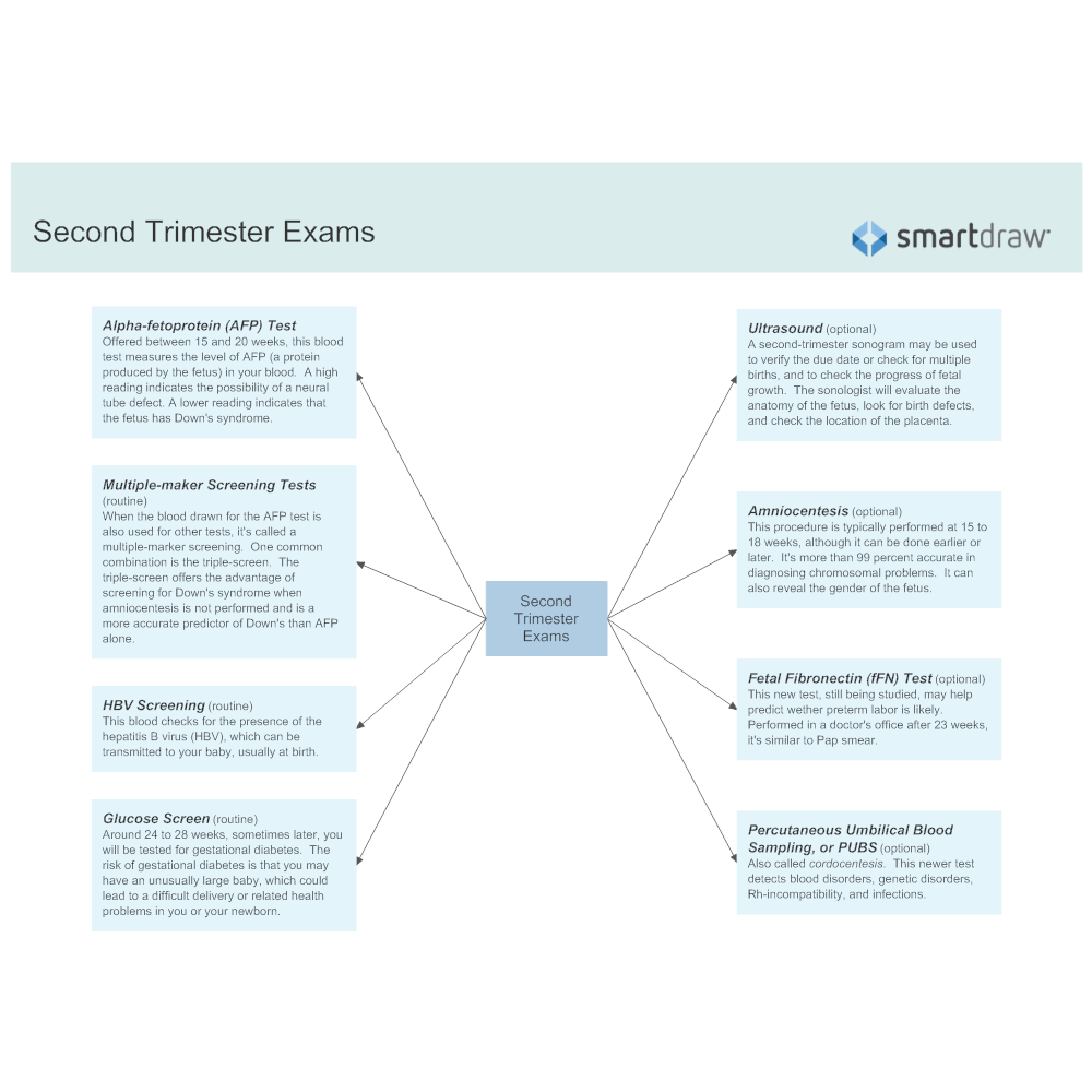 Example Image: Second Trimester Exams