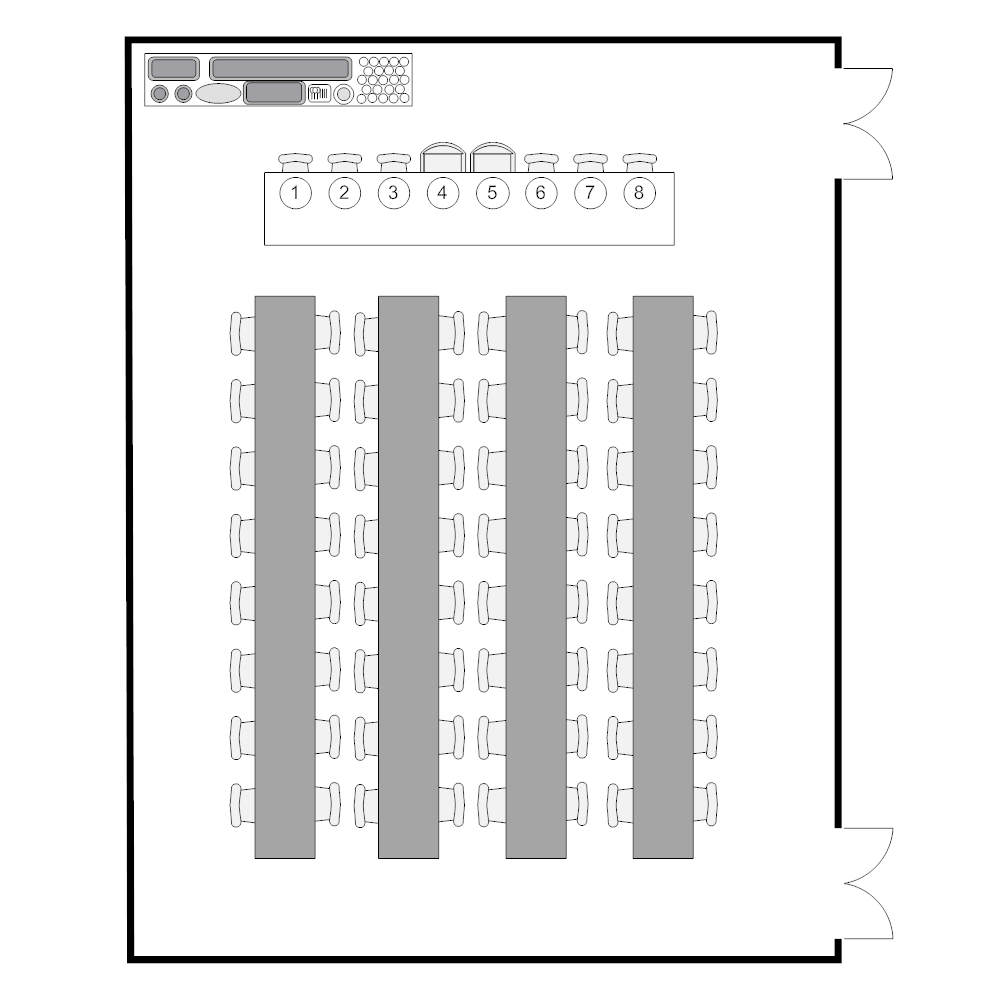 Banquet room plan for Event layout planner free