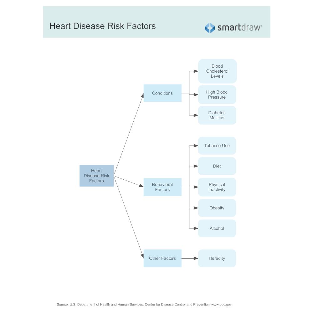 Example Image: Heart Disease Risk Factors