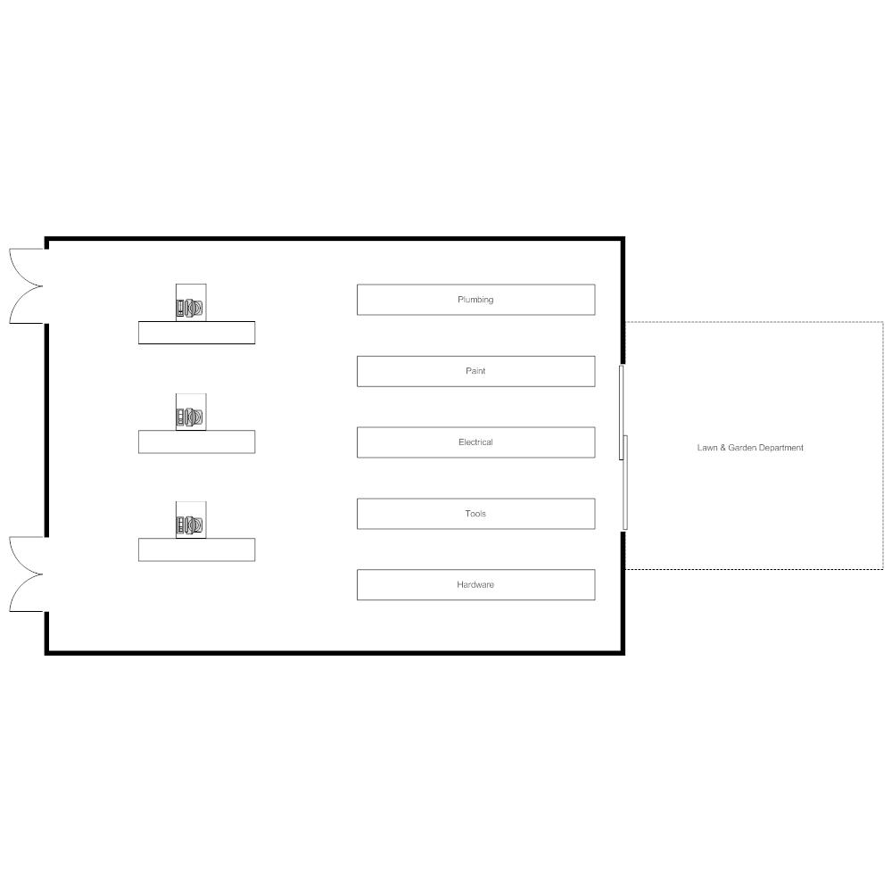 Example Image: Hardware Store Layout