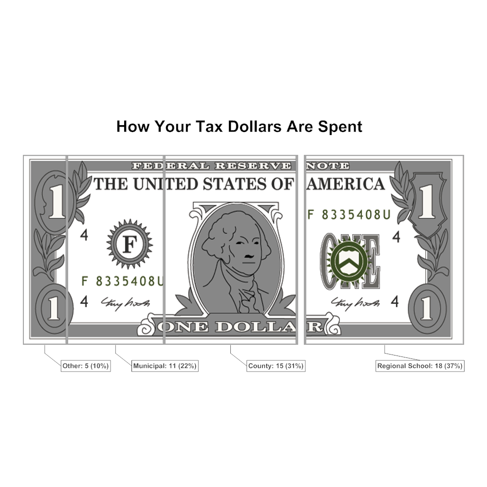 Example Image: Relative Value Chart Example - Tax Dollars