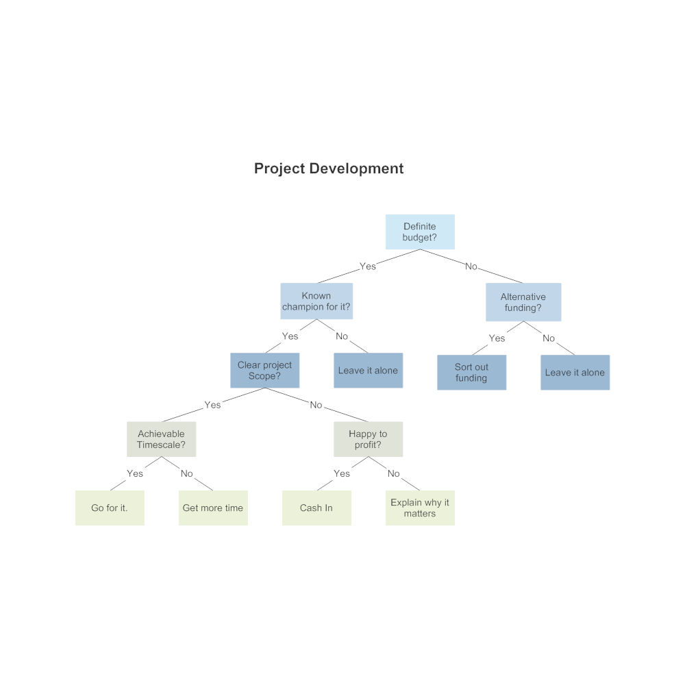 Example Image: Project Development Decision Tree