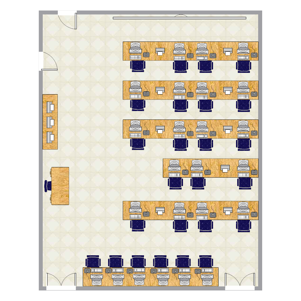 Example Image: Computer Lab Seating Chart