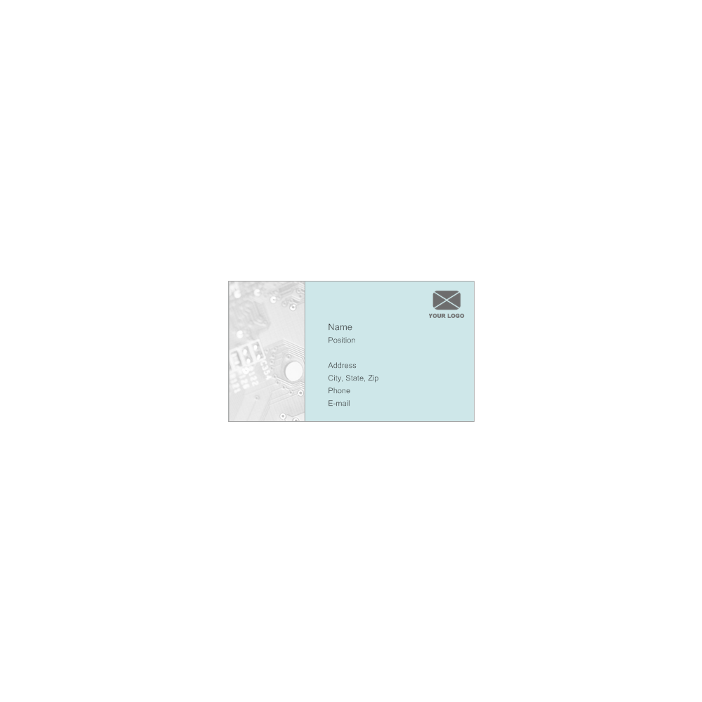 Example Image: Business Card Example