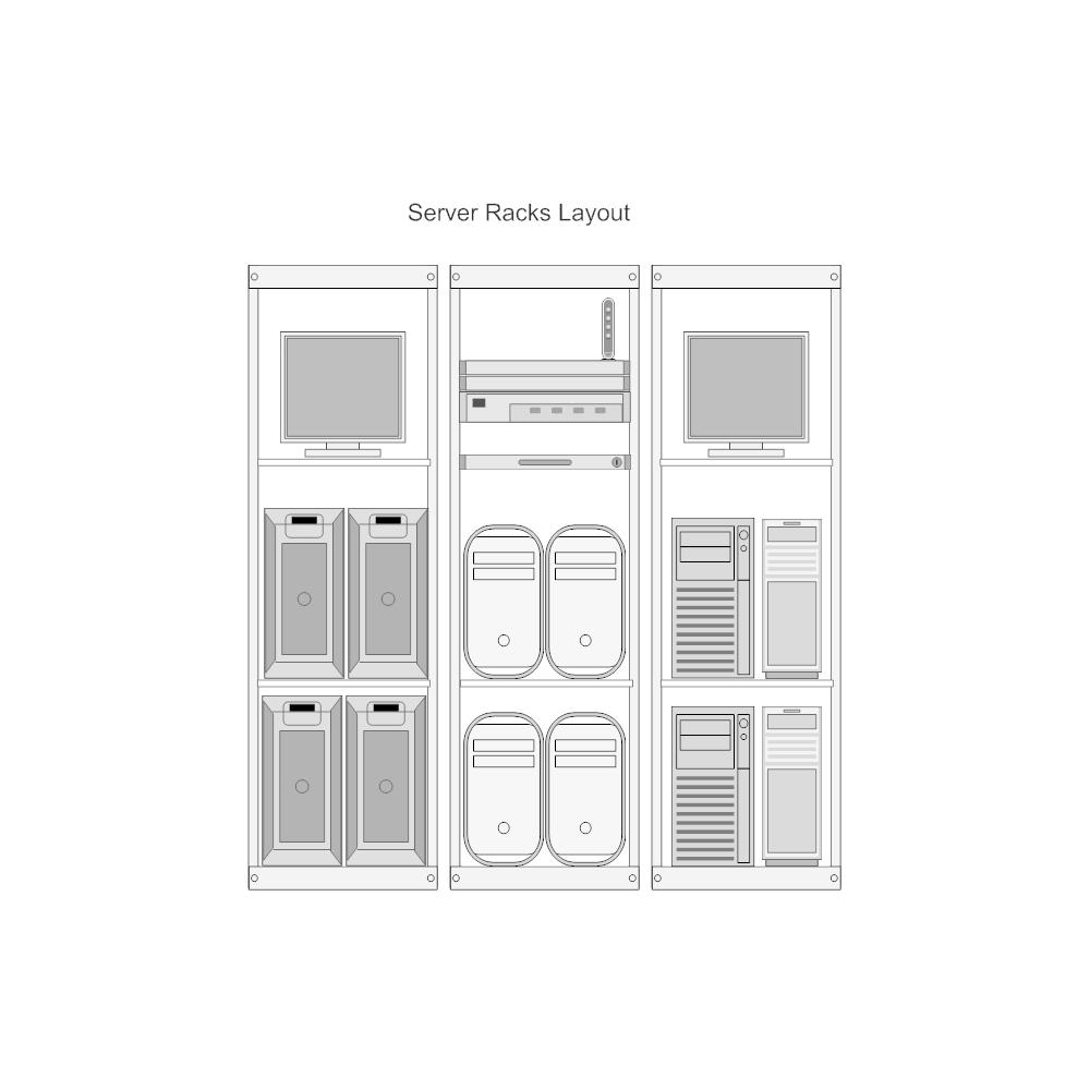 Example Image: Server Rack Layout