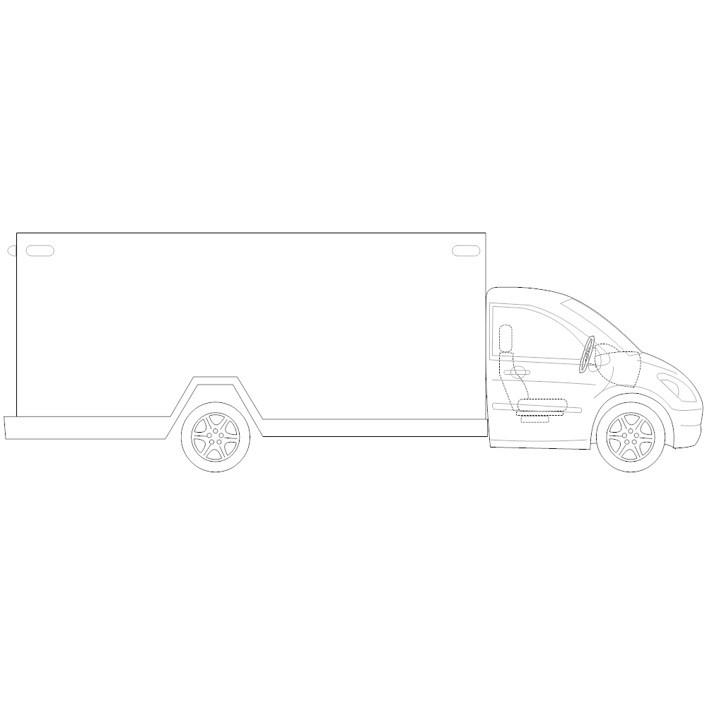 Example Image: Truck - 2 (Side View)