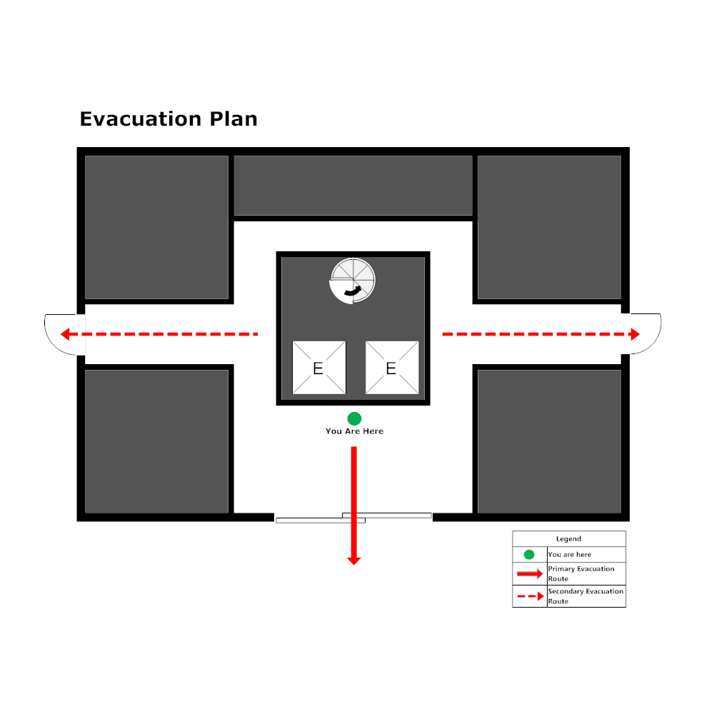 Example Image: Elevator Evacuation Plan - 2