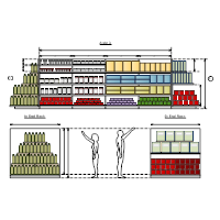 Planogram examples for Retail floor plan software