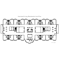 Assisted Living - Residential Unit Plan