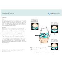 Meniscal Tears - 2