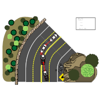 Accident Reconstruction Diagram