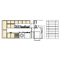 Laundry Room Storage Design