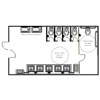 928 Square Feet 2 Bedrooms 1 Bathroom Traditional House Plans 3 Garage 4490 moreover Details further Mcdanielplumbingco wordpress together with Ex les likewise AD5 03. on bathroom layout dimensions