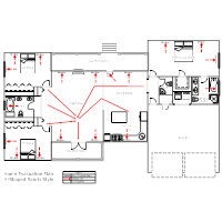 Residential Evacuation Plan - 2