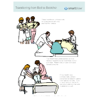 Transferring from Bed to Stretcher