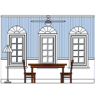 Dining room elevation examples for Dining room elevation