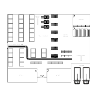 Floor plan examples for Draw layout warehouse