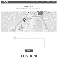 Contact Web Page Wireframe