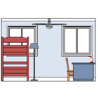 Bedroom Elevation - 2