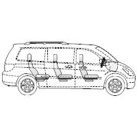 Minivan - 1 (Side View)