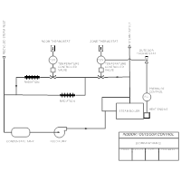 HVAC Drawing - Indoor Outdoor Control