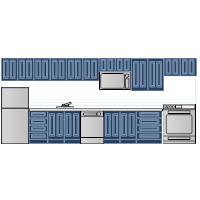 Kitchen Elevation - 2