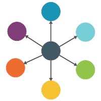 Spoke Diagram (6-piece)