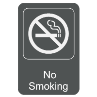 No Smoking Sign 3