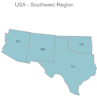 USA Region - Southwest