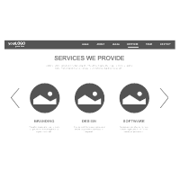 Services Page Wireframe