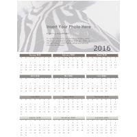 Carbon Annual Calendar