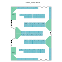 Trade Show Map