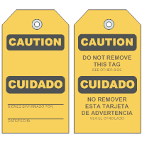 Caution Tag