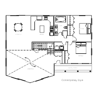 House Plan ExamplesHouse Plan   Contemporary