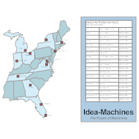 Sales Rep Territory Map