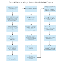 General Duties of a Legal Assistant in Intellectual Property