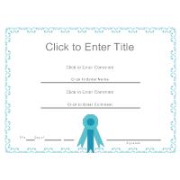 Certificate Template 5