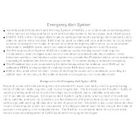 Emergency Alert System (EAS)
