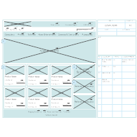 Website Wireframe Template