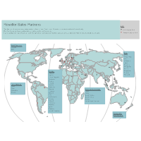 Reseller Sales Map