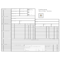 Landscaping Forms