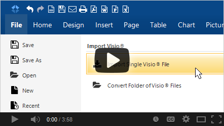 Learn more about importing Visio files with SmartDraw