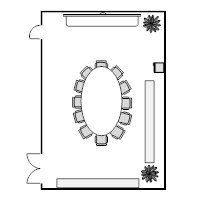 Conference Room Layout