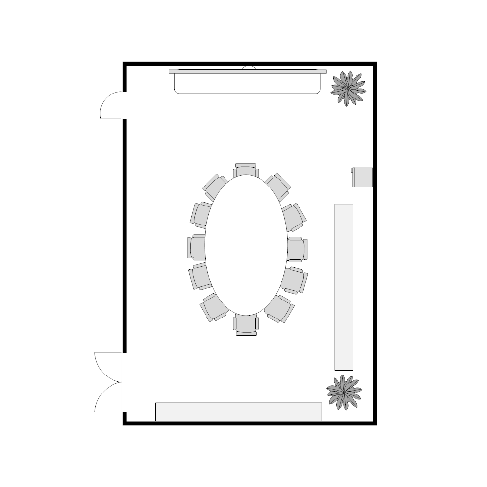 Example Image: Conference Room Layout