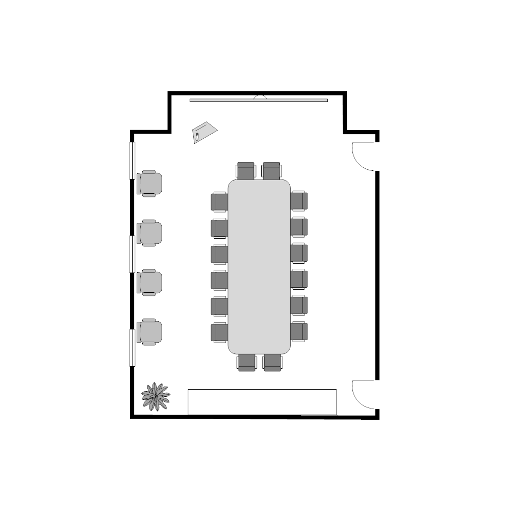 Example Image: Conference Room Plan