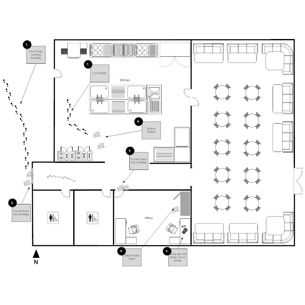 Example Image: Crime Scene - Restaurant