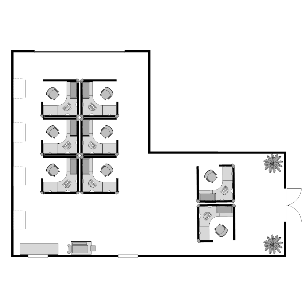 Example Image: Cubicle Plan